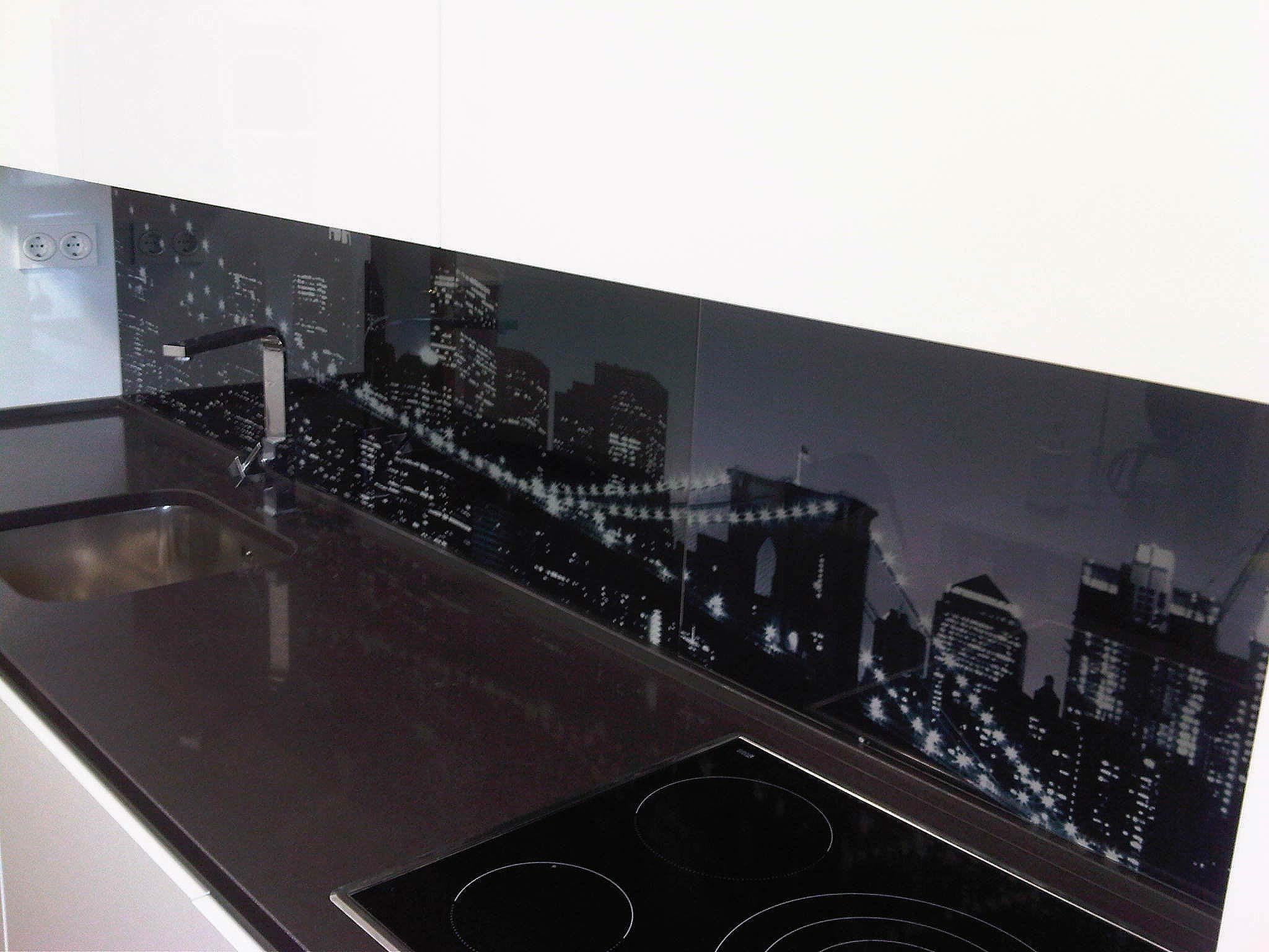 Decoraci N Cocinas Personalizadas Luminosos Arga ~ Cristales Decorados Para Cocinas