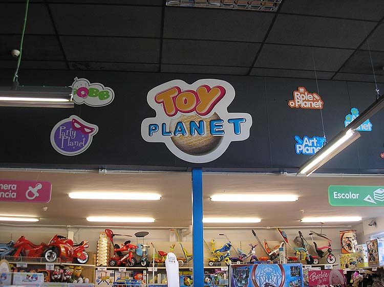 Toy planet r tulo vinilos impresiones luminosos arga for Oficinas mapfre bilbao